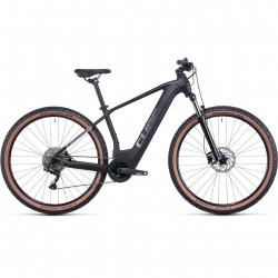 Bicicleta CUBE REACTION HYBRID ONE 625 TRAPEZE Black Metal