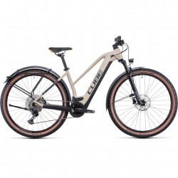 Bicicleta CUBE REACTION HYBRID PRO 500 ALLROAD TRAPEZE Desert Orange