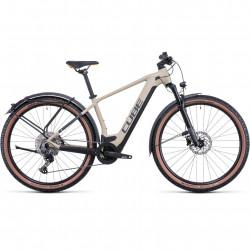 Bicicleta CUBE REACTION HYBRID PRO 625 ALLROAD Desert Orange