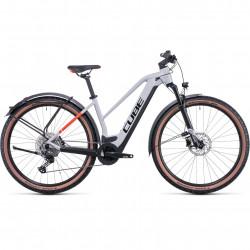 Bicicleta CUBE REACTION HYBRID PRO 625 ALLROAD TRAPEZE Grey Red