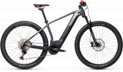 BICICLETA CUBE REACTION HYBRID RACE 625 29 Grey Red