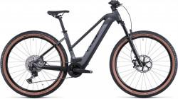 Bicicleta CUBE REACTION HYBRID SLT 625/750 29 TRAPEZE Prizmblack Black