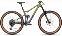 BICICLETA CUBE STEREO 150 C:62 RACE 29 Olive Grey