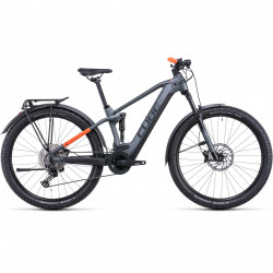 Bicicleta CUBE STEREO HYBRID 120 PRO ALLROAD 625 Flashgrey Orange