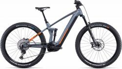 Bicicleta CUBE STEREO HYBRID 140 HPC SL 625/750 Flashgrey Orange