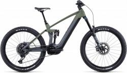 Bicicleta CUBE STEREO HYBRID 160 HPC TM 625/750 27.5 Flashgrey Olive