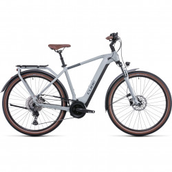 Bicicleta CUBE TOURING HYBRID PRO 625 Lunar Grey