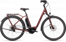 BICICLETA CUBE TOWN HYBRID PRO 500 EASY ENTRY Red Red