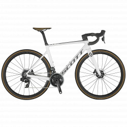 Bicicleta SCOTT Addict RC 10 pearl white