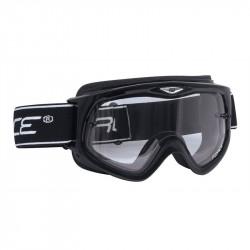 Ochelari Force cu Lentile Transparente Negru