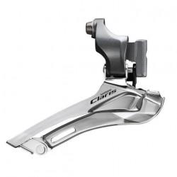 Schimbator Shimano Claris FD-2400 2x8 V Brazed On Argintiu