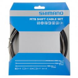Set cablu/camasa schimbator Shimano MTB PTFE Coating