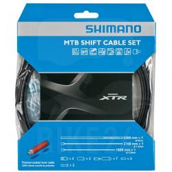 Set cablu/camasa schimbator Shimano MTB XTR M9000 Polymer Coated