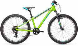 BICICLETA CUBE ACID 240 green´n´blue´n´grey