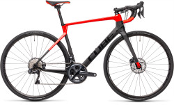 BICICLETA CUBE AGREE C:62 SL Carbon Red