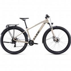 Bicicleta CUBE AIM ALLROAD Desert Orange