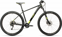 BICICLETA CUBE AIM EX Black Flashyellow