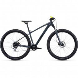 Bicicleta CUBE AIM PRO Grey Flashyellow