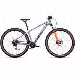 Bicicleta CUBE AIM RACE Silver Orange