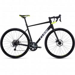 Bicicleta CUBE ATTAIN RACE Black White
