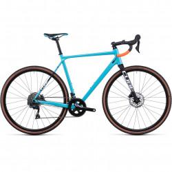 Bicicleta CUBE CROSS RACE PRO Blue Black