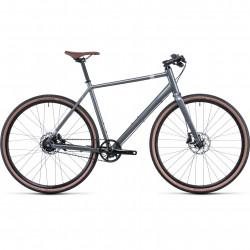 Bicicleta CUBE EDITOR Grey Silver