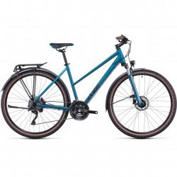 Bicicleta CUBE NATURE EXC ALLROAD TRAPEZE Blue Blue