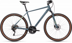 BICICLETA CUBE NATURE PRO Blue Green