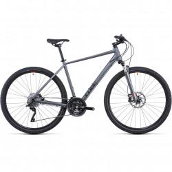 Bicicleta CUBE NATURE SL Flashgrey Orange