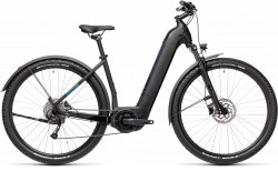 BICICLETA CUBE NURIDE HYBRID PERFORMANCE 500 ALLROAD EASY ENTRY Black Novablue