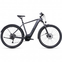 Bicicleta CUBE NURIDE HYBRID PERFORMANCE 500 ALLROAD Graphite Black