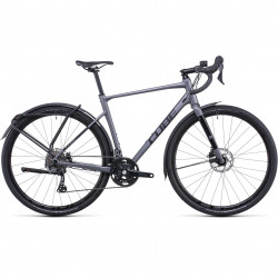 Bicicleta CUBE NUROAD RACE FE Grey Black