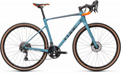 BICICLETA CUBE NUROAD RACE Greyblue Orange
