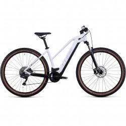 Bicicleta CUBE REACTION HYBRID ONE 625 TRAPEZE White Grey