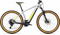 BICICLETA CUBE REACTION HYBRID PRO 625 29 Grey Yellow
