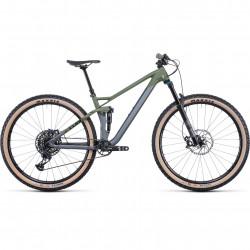 Bicicleta CUBE STEREO 120 HPC TM 29 Flashgrey Olive