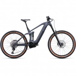 Bicicleta CUBE STEREO HYBRID 160 HPC RACE 625 27.5 Grey Metal