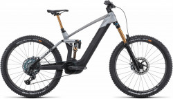 Bicicleta CUBE STEREO HYBRID 160 HPC SLT 625/750 27.5 Prizmsilver Carbon