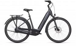 Bicicleta CUBE SUPREME HYBRID EX 625 EASY ENTRY Metallicgrey Black