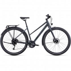 Bicicleta CUBE TRAVEL IRIDIUM TEAK TRAPEZE Grey Teak
