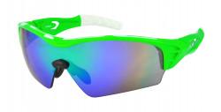 Ochelari HQBC TREDOM PLUS Neon verde / negru