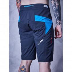 Pantaloni Cube Tealine Shorts Black/Blue