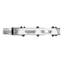 PEDALE AZONIC LEGEND RULMENT SIGILAT CNC 370g ARGINTIU