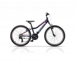 Bicicleta CROSS Speedster girl - 24'' junior - 30 cm