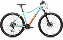BICICLETA CUBE ACCESS WS PRO Iceblue Orange