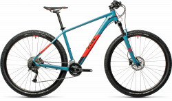 BICICLETA CUBE AIM EX Blue Red