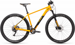 BICICLETA CUBE ATTENTION Amber Black