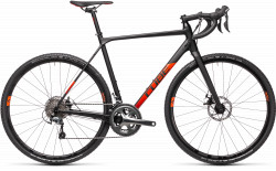 BICICLETA CUBE CROSS RACE Black Red