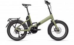 Bicicleta CUBE FOLD SPORT HYBRID 500 Green Black