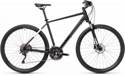 BICICLETA CUBE NATURE EXC Black Grey